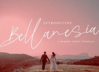 Bellanesia Font