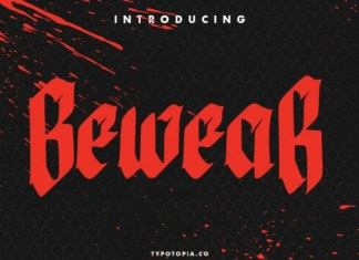 Bewear Font