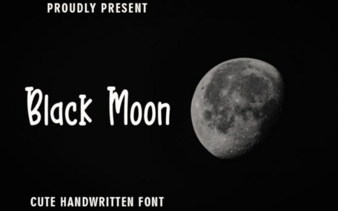 Black Moon Font