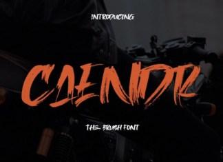 Caendr Font