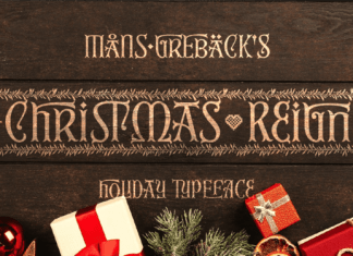 Christmas Reign Font