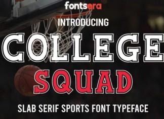 College Squad Font