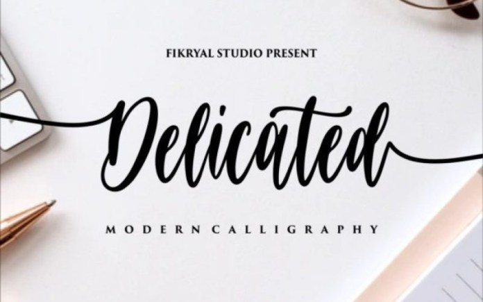 Delicated Font