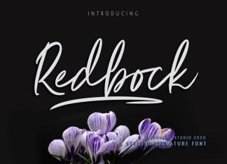Redbock Font