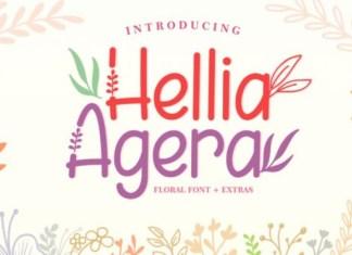 Hellia Agera Font