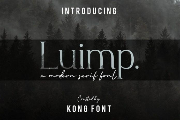 Luimp Font