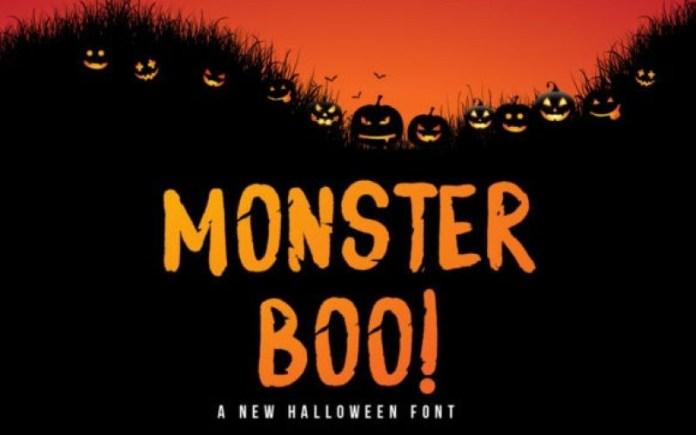 Monster Boo Font