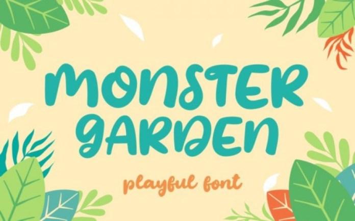 Monster Garden Font