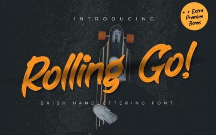 Rolling Go Font
