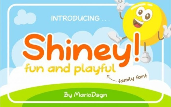 Shiney Font