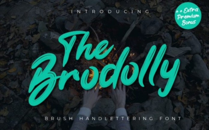 The Brodolly Font