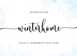 Winterhome Font