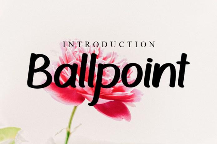 Ballpoint Font