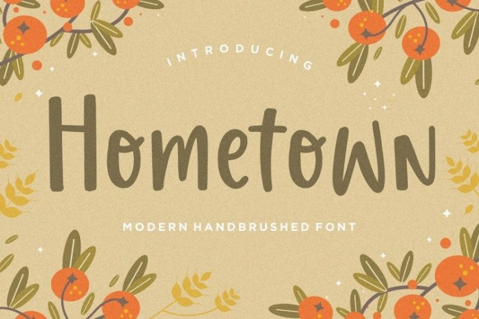 Hometown Font