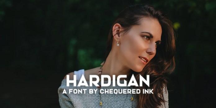 Hardigan Font