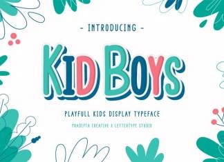 Kid Boys Font