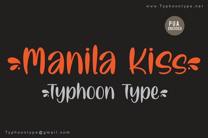 Manila Kiss Font