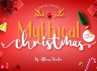 Mythical Christmas Font