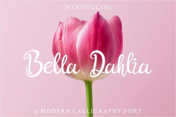 Bella Dahlia Font