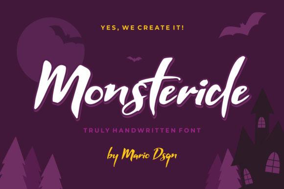 Monsteride Font