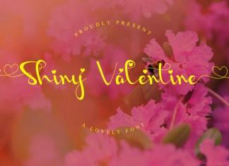 Shiny Valentine Font