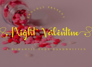 Night Valentine Font