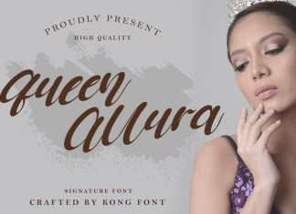 Queen Allura Font