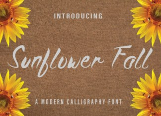 Sunflower Fall Font