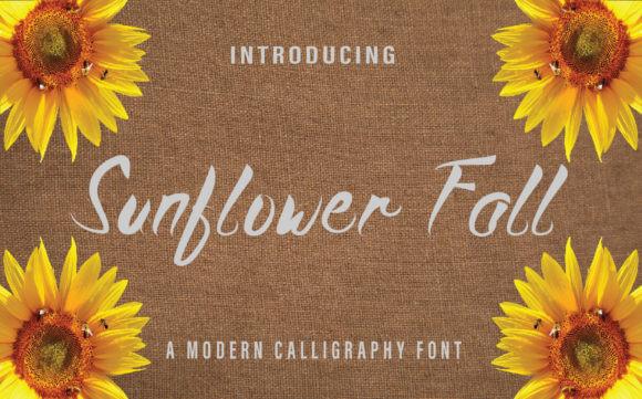 Sunflower Fall Font