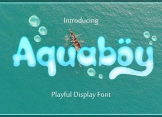 Aquaboy Font