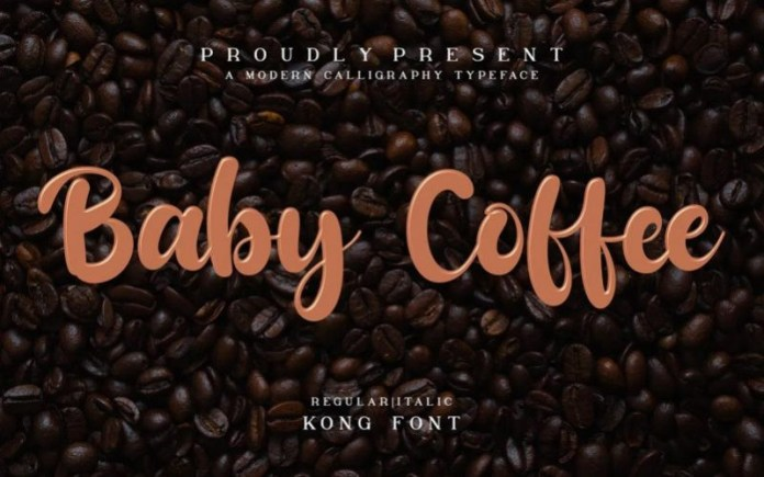 Baby Coffee Font