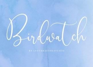 Birdwatch Font