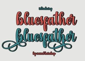Bluesfather Font