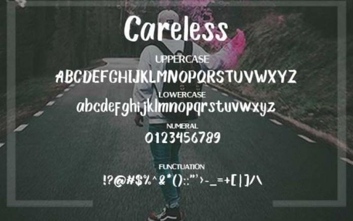 Careless Font