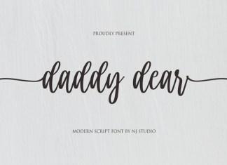 Daddy Dear Font