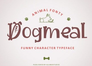 Dogmeal Font