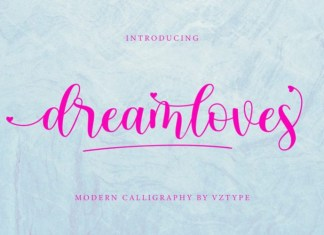 Dreamloves Font