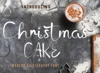 Chrismast Cake Font