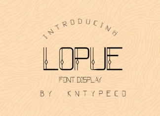 Lopue Font