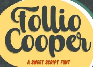 Follio Cooper Font