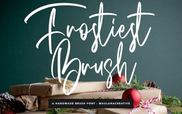 Frostiest Font