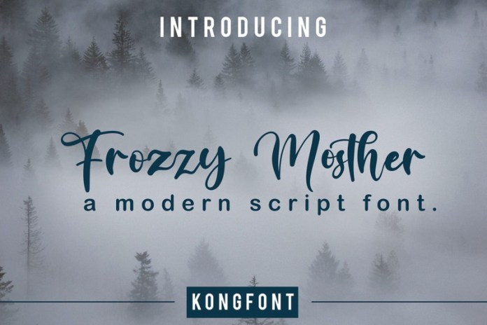 Frozzy Mosther Font