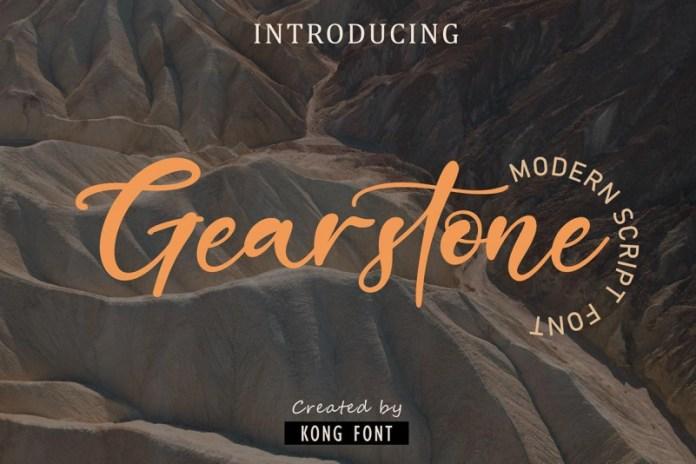 Gearstone Font
