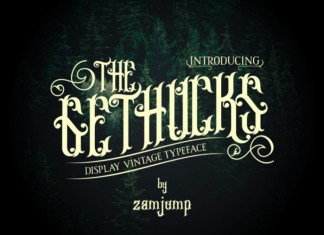 Gethucks Font