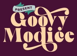 Goovy Modice Font