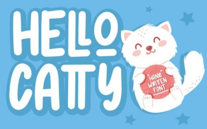 Hello Catty Font