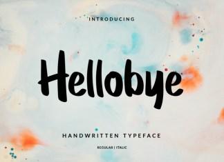 Hellobye Font