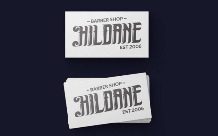 Hildane Font