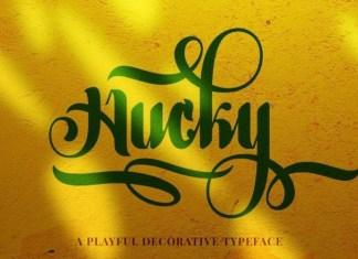 Hucky Font