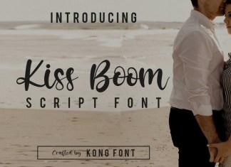 Kiss Boom Font